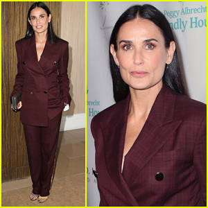 Demi Moore Receives Woman of the Year Award at Peggy Albrecht Friendly House Awards!