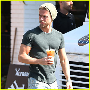 Derek Hough Wrote the Sweetest Birthday Message for Girlfriend Hayley Erbert!