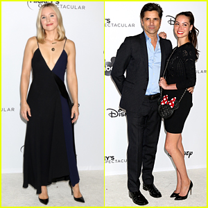 Kristen Bell, John Stamos & More Celebrate at Mickey's 90th Spectacular
