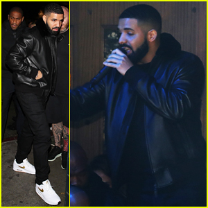 Drake Surprises Fans with McDonald's at Tour After Party!