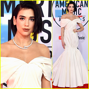 Dua Lipa Brings the Glamour to American Music Awards 2018!