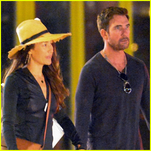Dylan McDermott & Maggie Q Step Out for Some Late-Night Shopping in NYC
