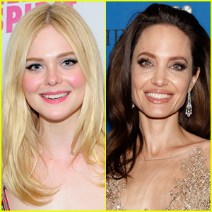Elle Fanning Gushes About Working with Angelina Jolie: 'She's Amazing!'