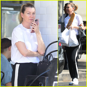 Ellen Pompeo Steps Out for Lunch in Los Angeles