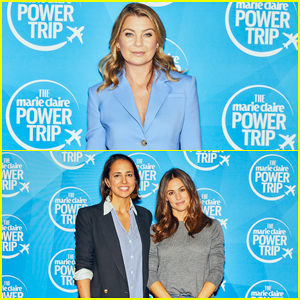 Ellen Pompeo Talks Raising Son in 2018 at Marie Claire's Power Trip: 'We Have Work To Do Ladies!'