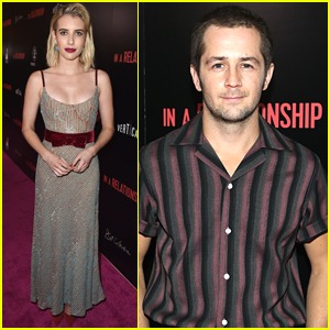 Emma Roberts & Michael Angarano Premiere 'In a Relationship' in WeHo!