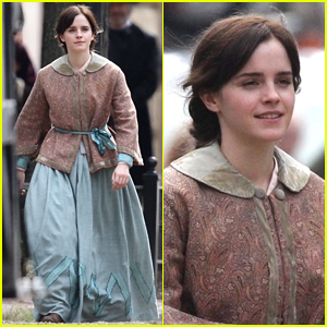 Emma Watson Begins Filming 'Little Women' - First Look Set Photos!