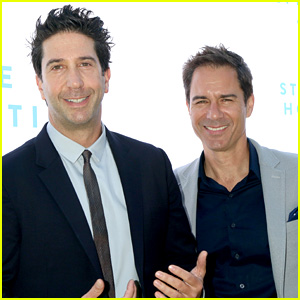 Eric McCormack & David Schwimmer Attend the Rape Foundation Annual Brunch 2018!