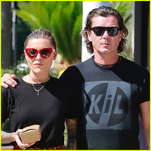 Gavin Rossdale & Girlfriend Sophia Thomalla Step Out for Lunch in Studio City!