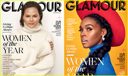 Glamour's Women of the Year 2018 Honorees: Chrissy Teigen, Janelle Monae & More!