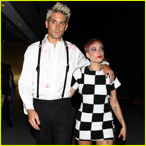 Halsey Switches Up Her Look For AMAs After Party With G-Eazy