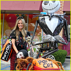Heidi Klum Went Halloween Shopping & Basically Bought the Whole Store!