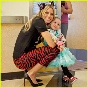 Heidi Klum Hosts Halloween Party at Children's Hospital Los Angeles