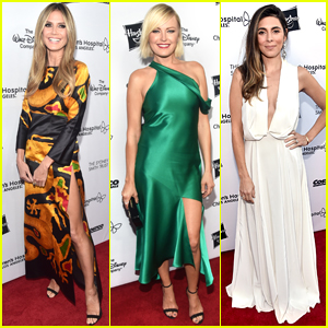 Heidi Klum, Malin Akerman, & Jamie-Lynn Sigler Step Out for Children's Hospital L.A. Gala