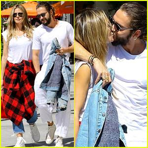 Heidi Klum & Tom Kaulitz Flaunt PDA After Lunch in Beverly Hills