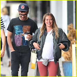 Pregnant Hilary Duff & Boyfriend Matthew Koma Head Out Together After Lunch!