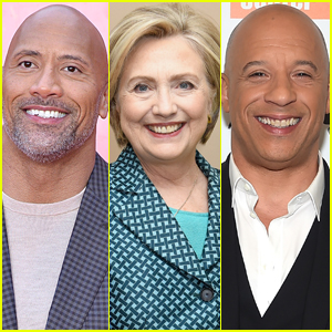 Hillary Clinton Reveals If She's Team Dwayne Johnson or Vin Diesel in 'Fast & The Furious' - Watch Now!