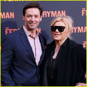 Hugh Jackman & Deborra Lee Furness Attend Opening Night of 'The Ferryman' in NYC!