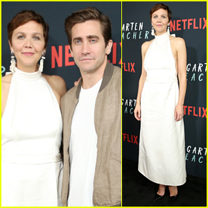 Jake Gyllenhaal Supports Sister Maggie at 'The Kindergarten Teacher' Screening!