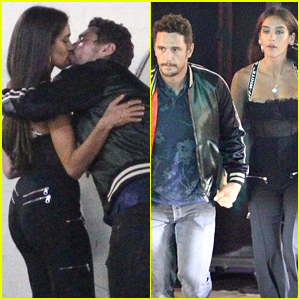 James Franco & Girlfriend Isabel Pakzad Pack on the PDA in WeHo!