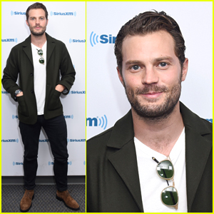 Jamie Dornan Looks So Handsome While Promoting 'My Dinner with Hervé'