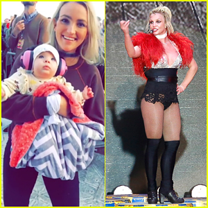 Jamie Lynn Spears Takes Baby Daughter To See 'Auntie' Britney Spears' Concert in Texas!