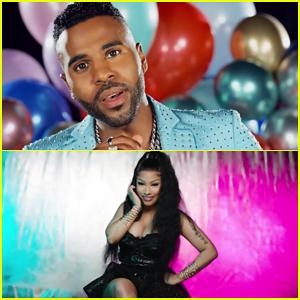 Jason Derulo & Nicki Minaj Debut 'Goodbye' Music Video!