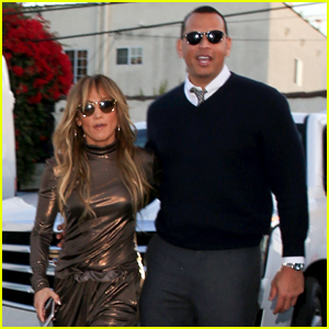 Jennifer Lopez & Alex Rodriguez Look Stylish Heading to Dinner at Craig's!