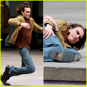 Joaquin Phoenix Takes a Big Fall While Filming 'Joker' Movie