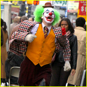 Joaquin Phoenix's Joker Makes a Run for It While Filming