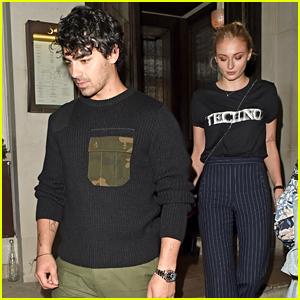 Joe Jonas & Fiancee Sophie Turner Head Out After a London Date Night!