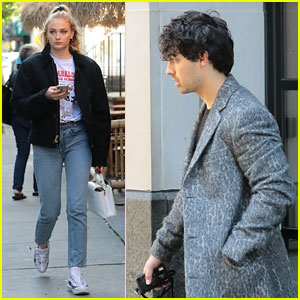 Joe Jonas & Sophie Turner Step Out After Getting Matching 'Toy Story' Tattoos