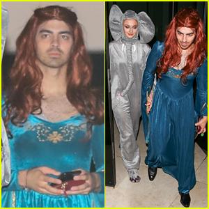 Joe Jonas Goes as Sophie Turner's 'Game of Thrones' Character for Halloween!