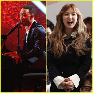 John Legend & Red Velvet's Wendy Team Up on 'Written In The Stars' - Listen!