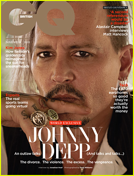 Johnny Depp Says It Hurt to Be Considered a Violent Man