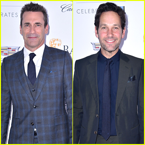Jon Hamm & Paul Rudd Join 'SNL' Cast to Celebrate Special BAFTA Award