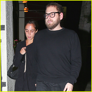 Jonah Hill Steps Out for Date Night with Girlfriend Gianna Santos