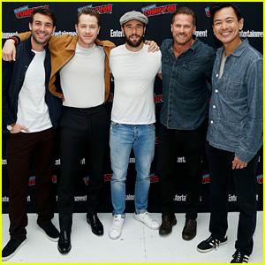 James Wolk, Josh Dallas, Josh Bowman & More Attend 'Brave Warriors' Panel at New York Comic Con!