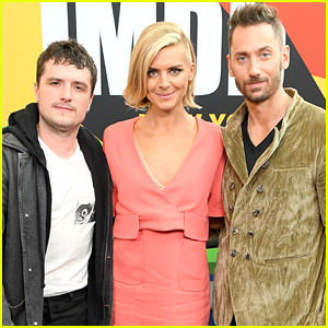 Josh Hutcherson Joins 'Future Man' Co-Stars Eliza Coupe & Derek Wilson at NY Comic-Con!