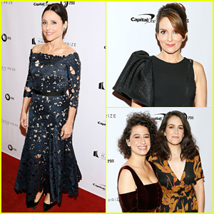 Julia Louis-Dreyfus Gets Roasted by Tina Fey & More at Mark Twain Prize Ceremony!