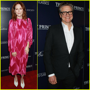 Julianne Moore Supports Colin Firth at 'The Happy Prince' Screening!