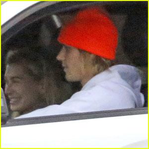 Justin Bieber & Hailey Baldwin Head Out for Morning Coffee Run