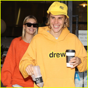 Justin Bieber & Hailey Baldwin Get Colorful During Breakfast Date!