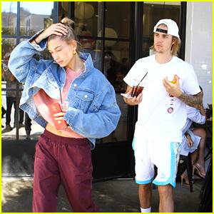 Justin Bieber & Hailey Baldwin Hit Up Their Favorite Brunch Spot