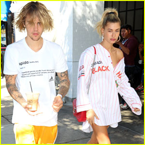 Justin Bieber Hangs Out With Hailey Baldwin After Spending Afternoon With Pastor