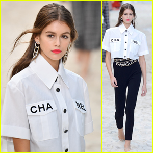 Kaia Gerber Walks in the Chanel Show During Paris Fashion Week!