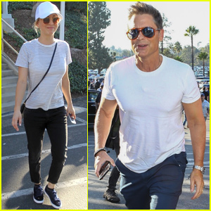 Kaley Cuoco & Rob Lowe Join Tons of Celebs at World Series Game 3