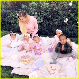 The Kardashian Kids Have a Cousins Cupcake Party - See the Pics!