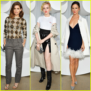 Kate Mara, Julia Garner & Juliette Lewis Sit Front Row at Miu Miu's Paris Fashion Week Show!