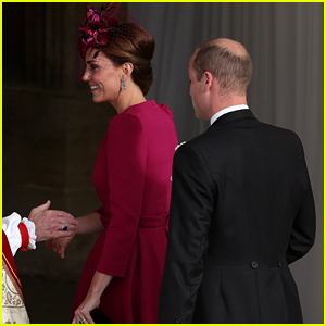 Kate Middleton Joins Prince William at Princess Eugenie's Wedding